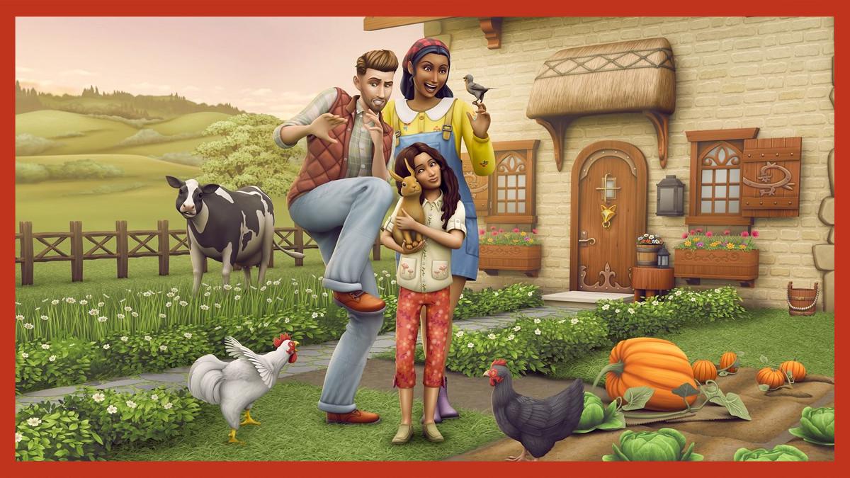 De Sims 4 Landelijk Leven - Farm Life