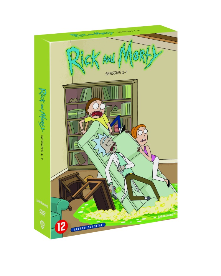 Rick and Morty DVD