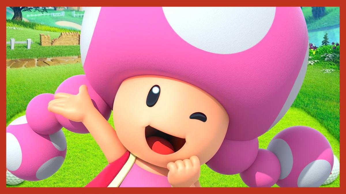Mario Golf Super Rush Toadette