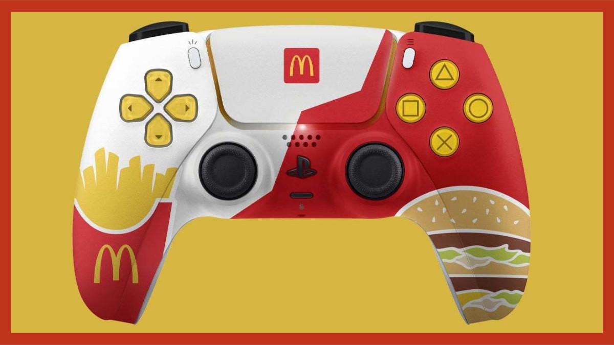 PlayStation 5 DualSense McDonalds