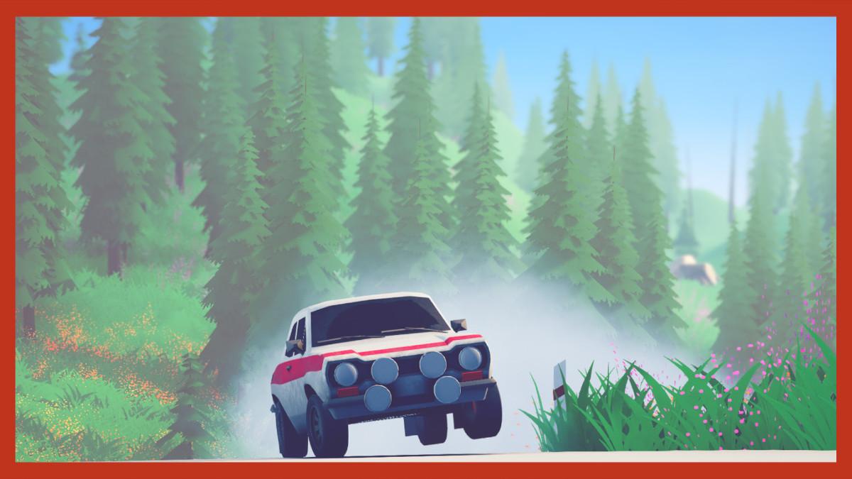 Art of Rally racing