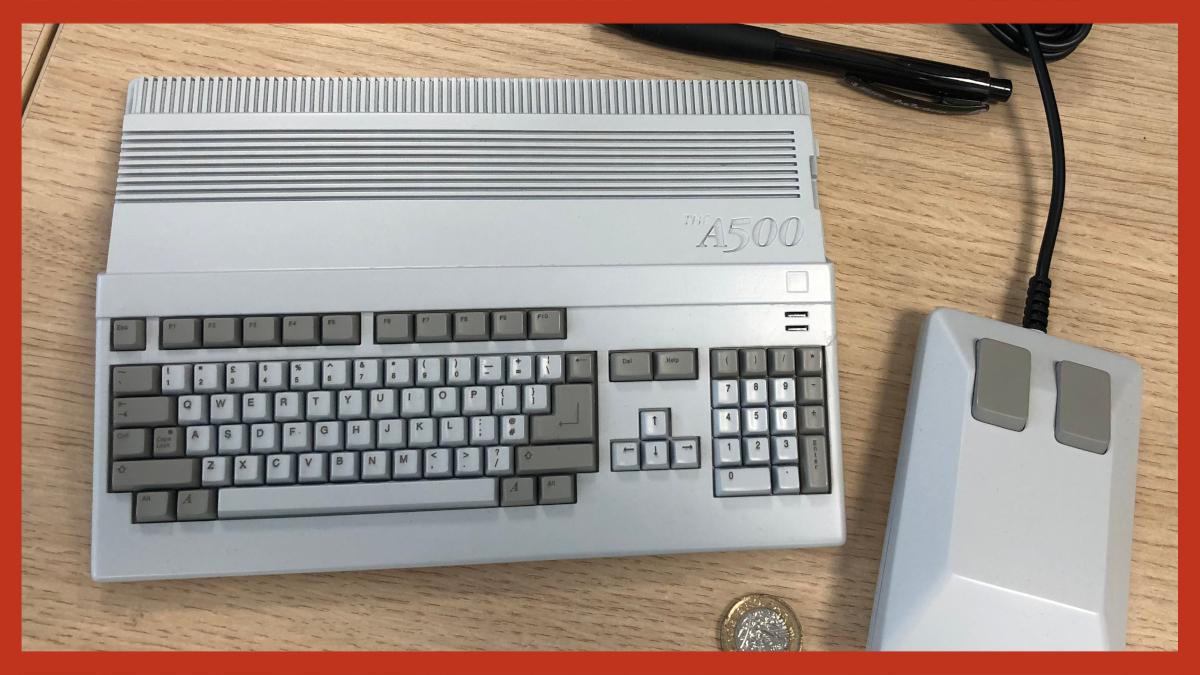 THEA500 Mini Amiga 500