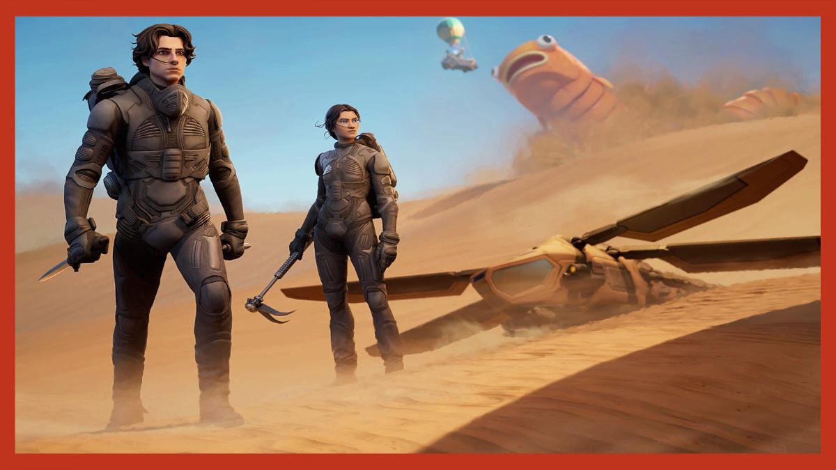 Fortnite Dune